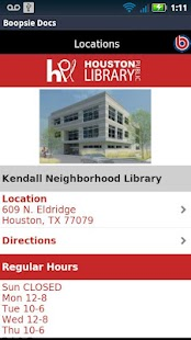 Houston Public Library Mobile- screenshot thumbnail