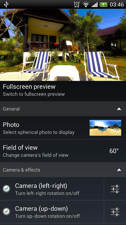 Photosphere HD Live Wallpaper - screenshot