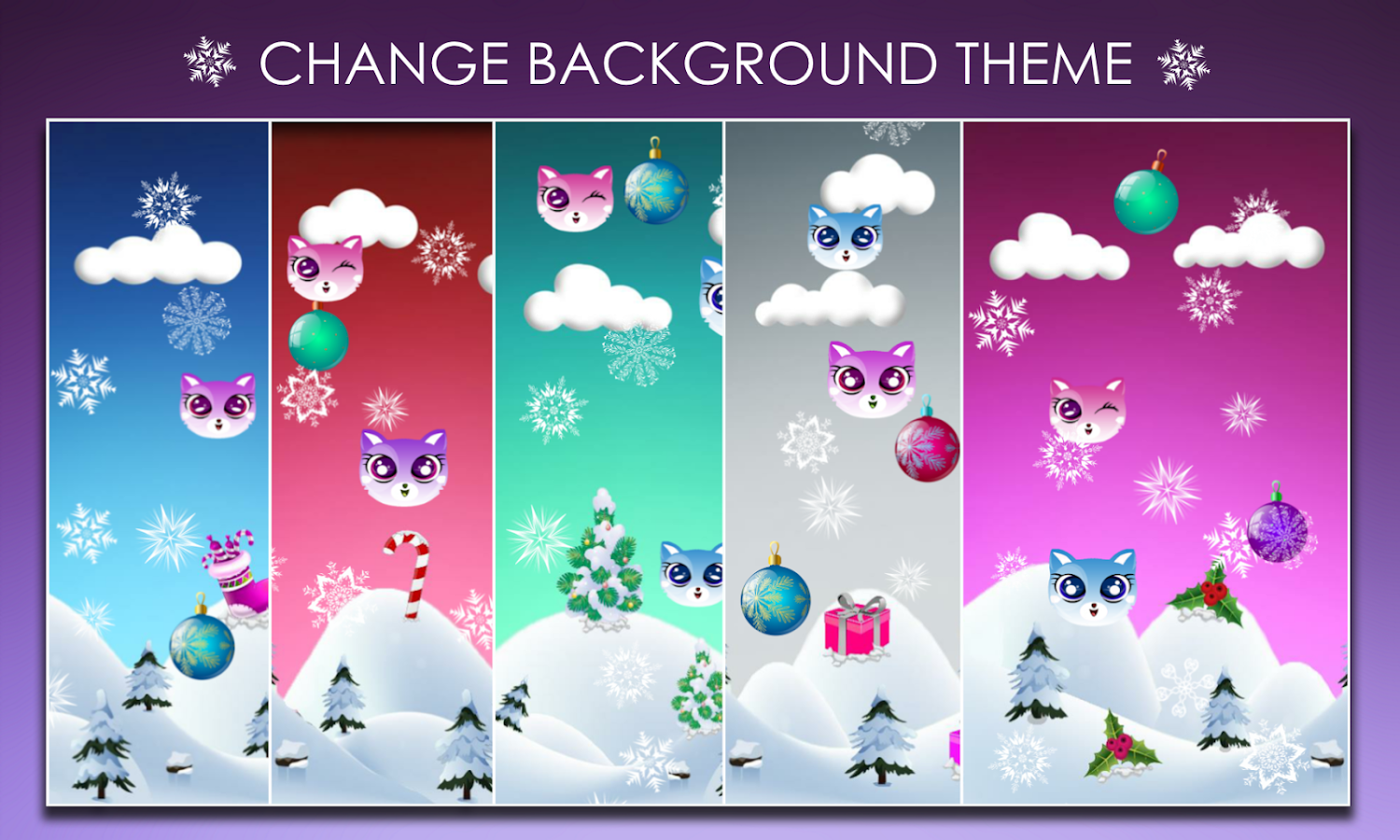 Ina Kitty Winter LiveWallpaper Apl Android Di Google Play