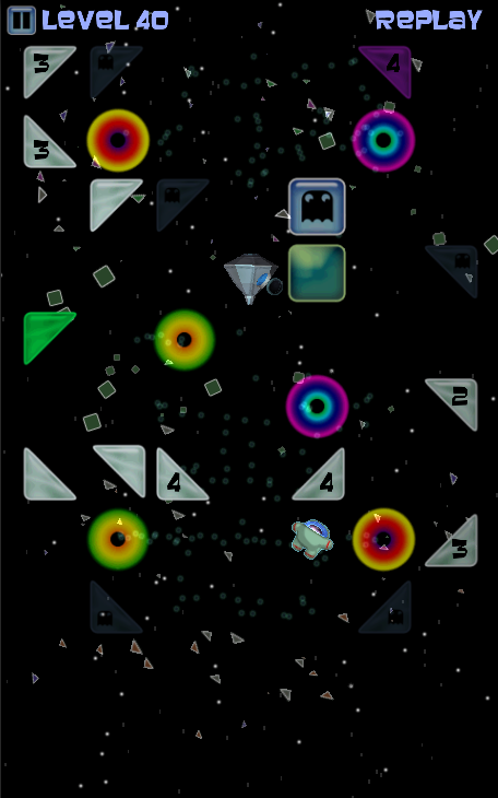 Space Shards: Maze in Space- screenshot