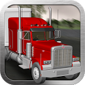 Big Red Truck: 3D Driving Sim icon