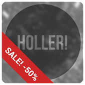 Holler! blk icon pack Donate