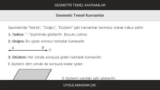 Geometri Temel Kavramlar