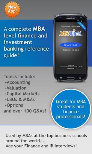 Finance Inv.Banking Jobjuice