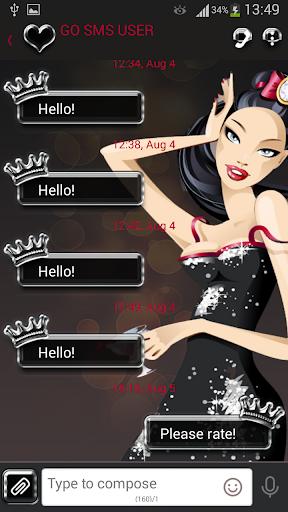 GO SMS Pro Diva