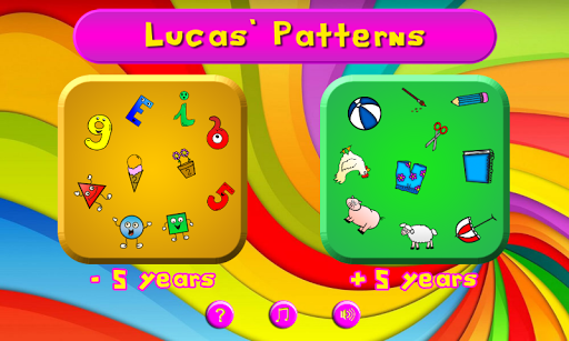Lucas' Logical Patterns Game