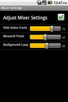 Screenshot of Brain Tuner