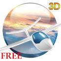Flight in the sky 3D FREE LWP icon