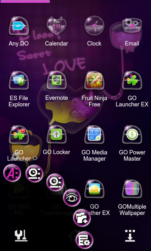 B.S.Love Next Launcher Theme- screenshot