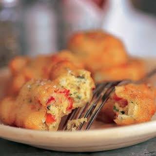 Crawfish Beignets.