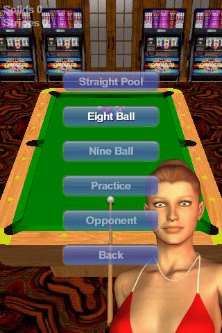 Vegas Pool Sharks Screenshot