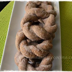 Cinnamon Braided Donuts
