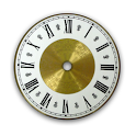 Classic Gold Clock Widget icon