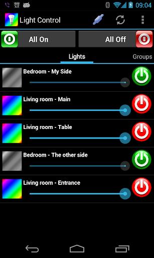 LightControl for Philips Hue