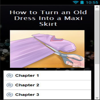 How to Turn an Old Dress