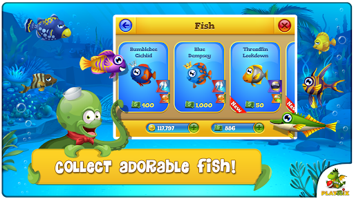 Pocket Fishdom v1.0.7 [Mod Money]
