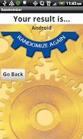 Screenshot of Randomizer Pro
