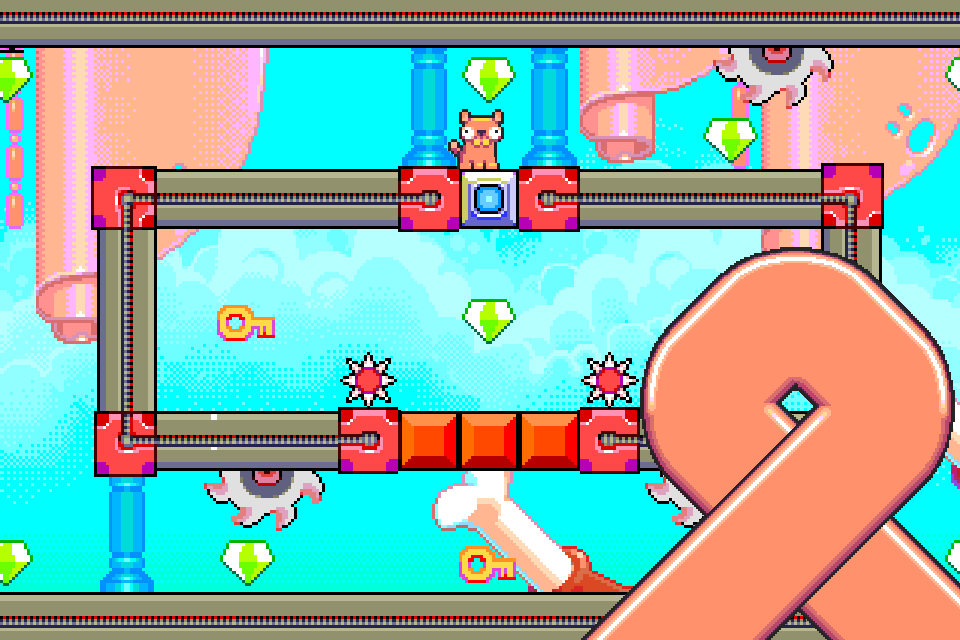 Silly Sausage in Meat Land- screenshot