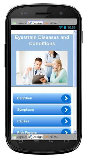 Eyestrain Disease Symptoms
