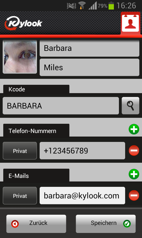 Address Book & Contacts Sync- screenshot
