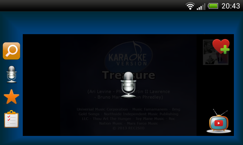 Karaoke Mode - screenshot