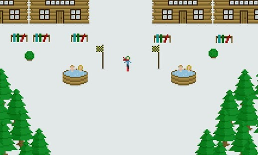 Snow Boarding Lite - screenshot thumbnail