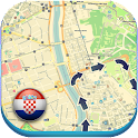 Croatia Offline Map & Weather icon