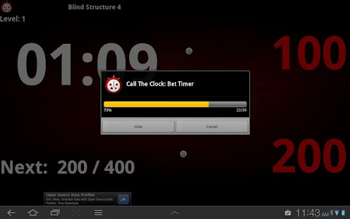 Talking Poker Timer - Clock - screenshot thumbnail