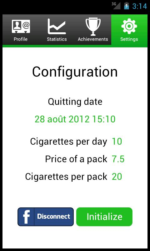 Kwit - quit smoking is a game - screenshot