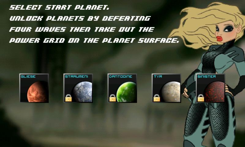 Sinister Planet Xperia Play - screenshot