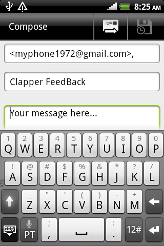 Lost Phone Clapper - screenshot