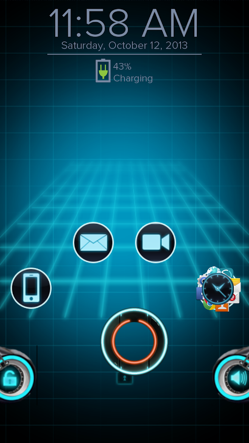 Tron - Start Theme - screenshot