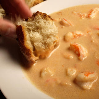 Cognac Shrimp Bisque