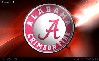 Screenshot of Alabama Crimson Tide LWP &Tone