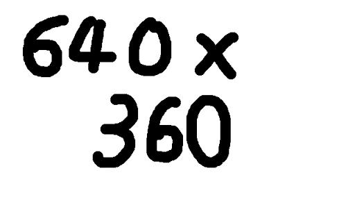 640*360 해상도 테스트 버전