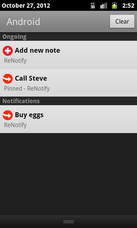 ReNotify Notification Maker - screenshot