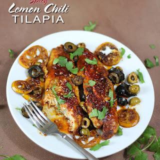 Spicy Lemon Chili Tilapia