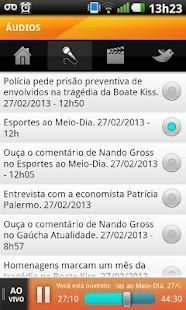 Rádio Gaúcha- screenshot thumbnail