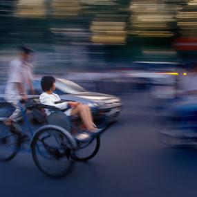 Ho Chi Minh by Roberto Nencini - Transportation Bicycles