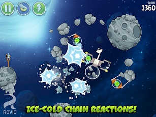 Angry Birds Space HD Screenshot 1
