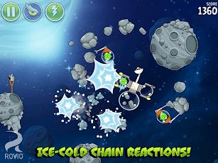 Angry Birds Space HD Screenshot 1