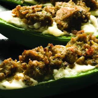 Chorizo Stuffed Jalapeños.