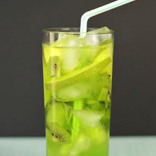 Green Fizz Midori Cocktail