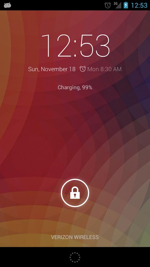 Fixed 4.2 Clock Widget Donate - screenshot