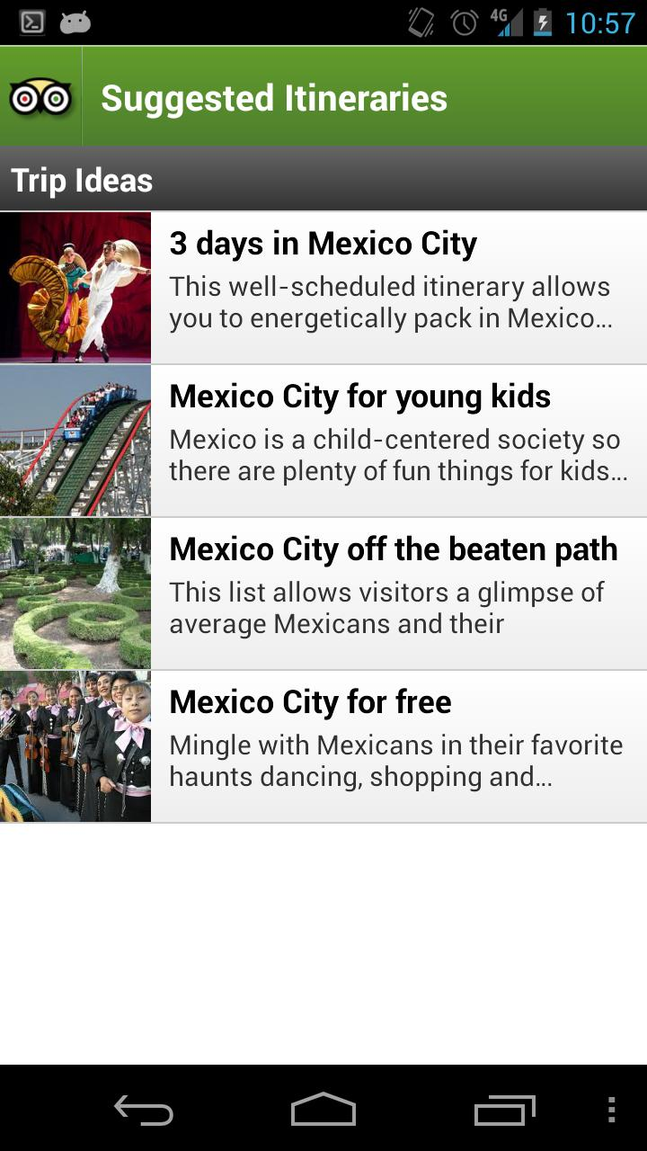 Mexico City Guide screenshot #4