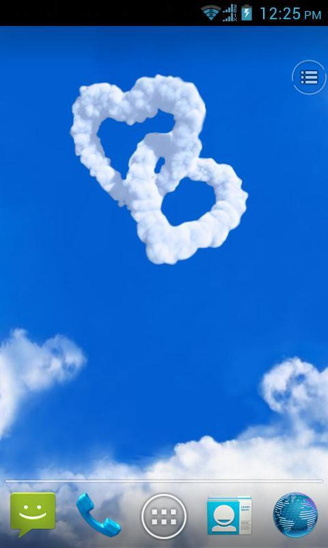 Love in Sky live wallpaper - screenshot