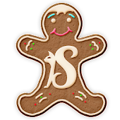 Gingerbread cookie GO Launcher