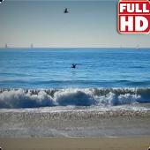 Blue Waves Live Wallpaper HD