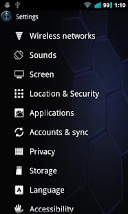 Honeycomb Launcher - screenshot thumbnail