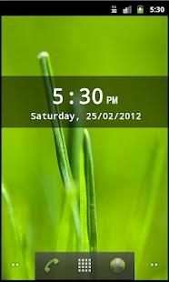 Digital Clock Widget- screenshot thumbnail